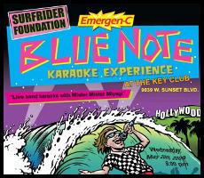 Karaoke for a BLUE Earth!