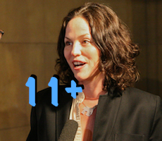 "CSI fans can look for ""look for more than 11"" episodes with Jorja"