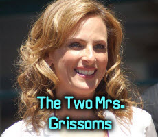 "Marlee Matlin cast for ""The Two Mrs. Grissoms"""