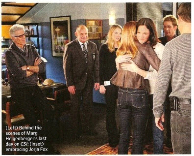 "EW ""Saying Goodbye to CSI"""