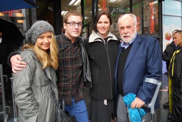 Jorja at Marg's Walk of Fame Star Unveiling