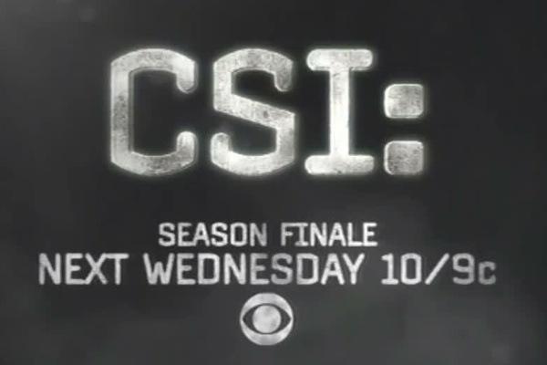 "CSI 12×22 Promo – ""Homecoming"""