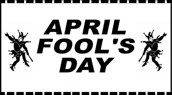 It Wasn't April Fools