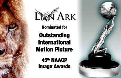 Lion Ark Nominated for NAACP Award