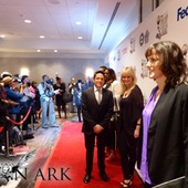Lion Ark Associate Producer Jorja Fox (CSI) on the red carpet at the NAACP Nominees Luncheon