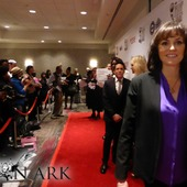 Another shot of Jorja Fox on the red carpet