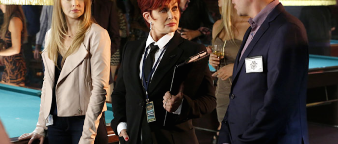 """""""The Talk's"""" Sharon Osbourne Guest Stars as Elise Massey, The Manager of a Billiards Championship"""