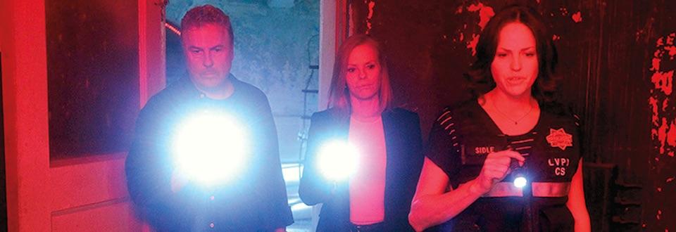 William Petersen joins Marg Helgenberger and Jorja Fox for the Sept. 27 movie