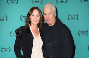 "Jorja Fox and William Petersen attend the Santa Monica International Film Festival closing night screening of ""The Animal People"" at AMC Broadway 4 on November 30, 2019 in Santa Monica, California. (Photo by David Livingston/Getty Images)"