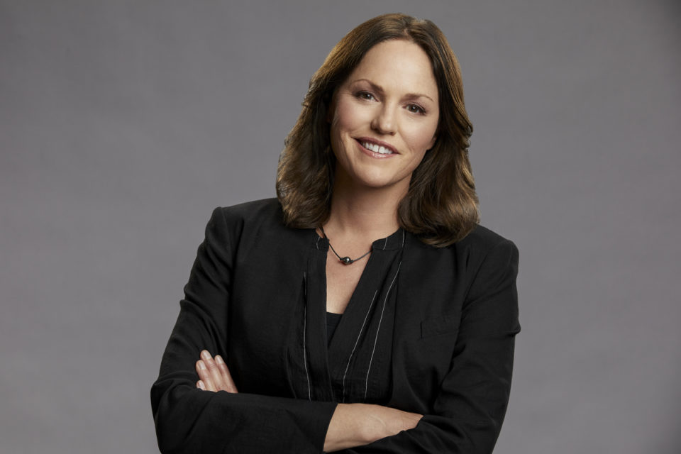 Jorja Fox as Sara Sidle from the CBS series CSI: Vegas, scheduled to air on the CBS Television Network. Photo: Sonja Flemming/CBS 2021 CBS Broadcasting, Inc. All Rights Reserved.